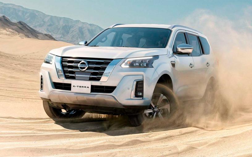 Nissan представил рамный внедорожник X-Terraнового поколения