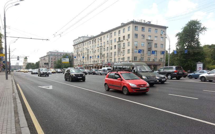 В Москве водители стали реже ездить по «выделенкам»