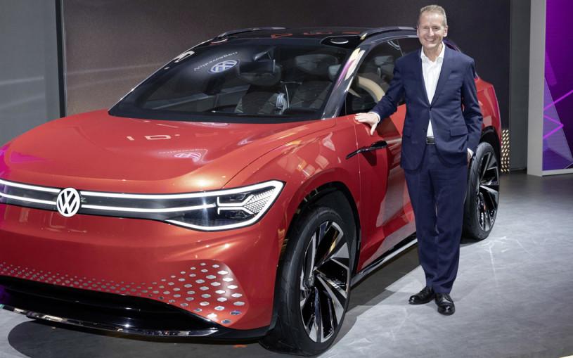 Глава Volkswagen пообещал обойти Tesla в гонке создателей электрокаров