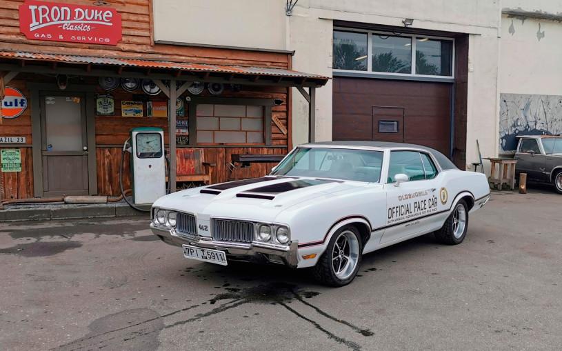 Американская мощь. Тест редкого маслкара Oldsmobile 442