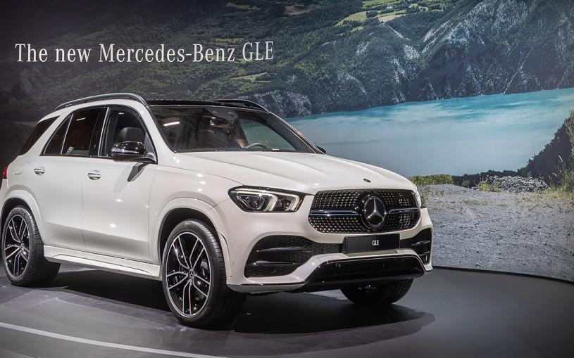 Mercedes-Benz показал в Париже GLE нового поколения