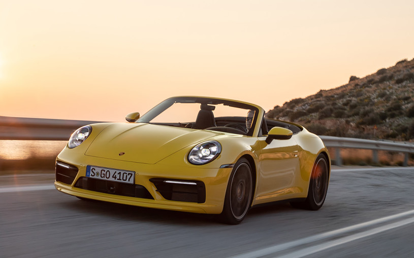 Звоните 9-1-1. Тест-драйв кабриолетов Porsche Carrera S и Carrera 4S