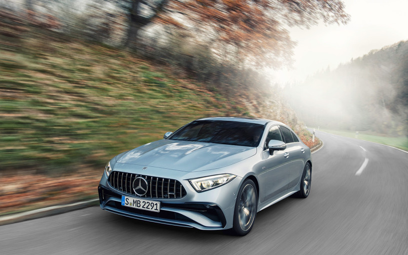 Mercedes представил обновленный CLS. До России седан доберется в июле
