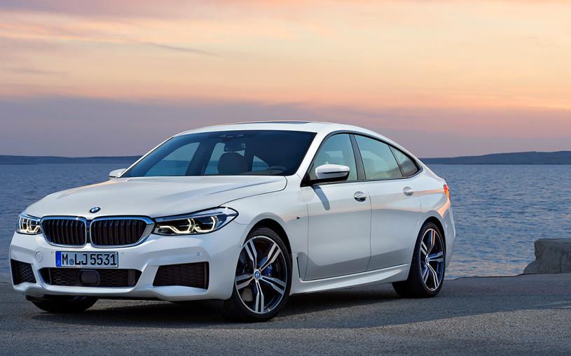 BMW представила новый лифтбек 6-Series GT