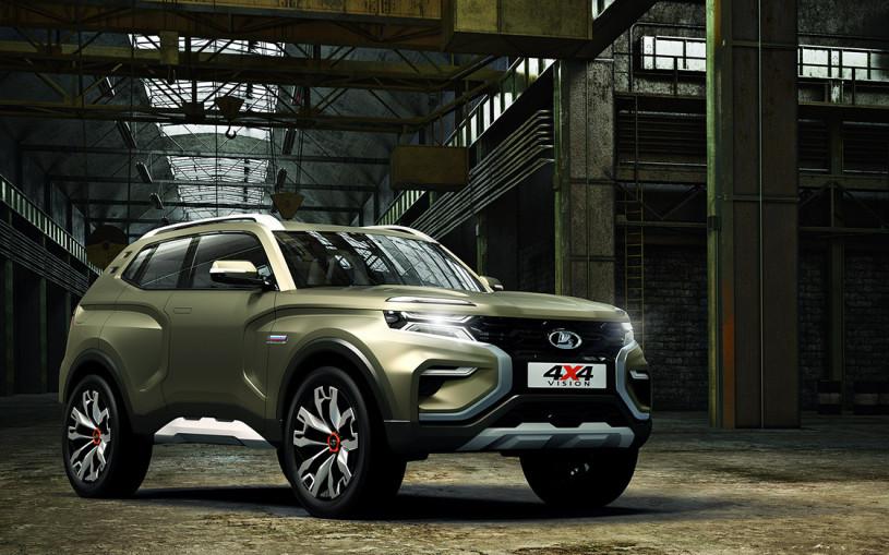 АвтоВАЗ представил прототип новой Lada 4x4