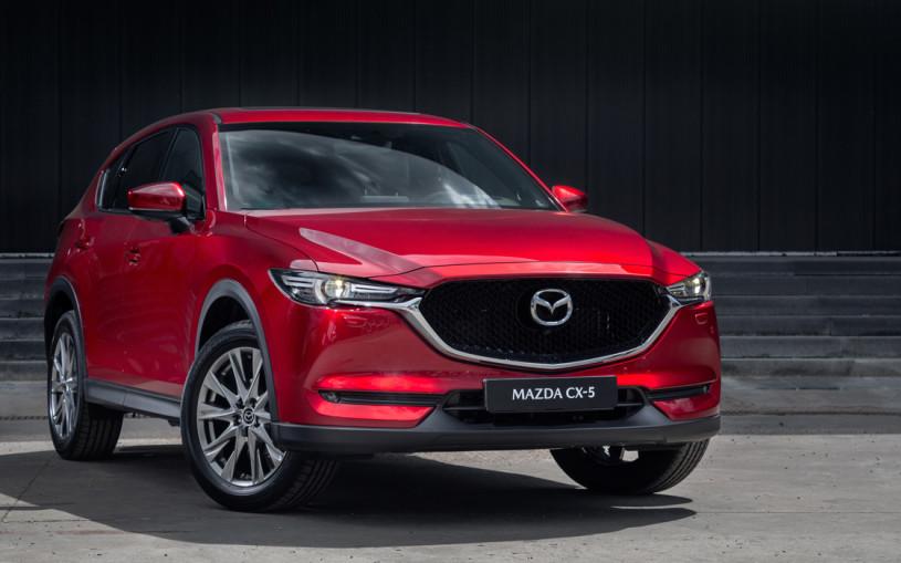 Mazda назвала российские цены на обновленный кроссовер CX-5