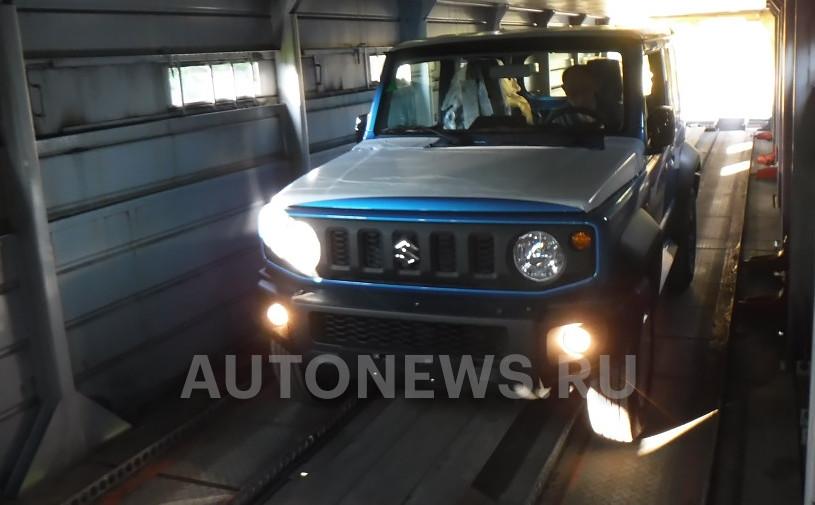 Новый Suzuki Jimny заметили в России