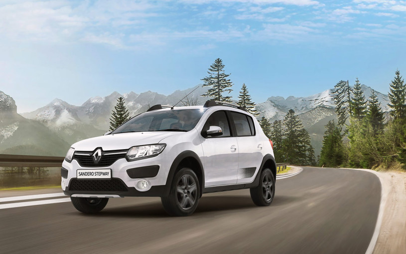 Renault Sandero Stepway получил лимитированную спецверсию в России