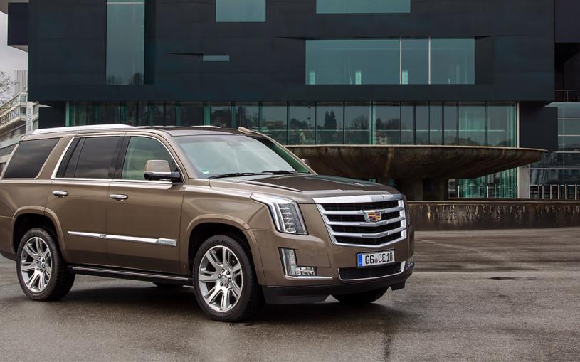 Cadillac выпустит новый Escalade к 2020 году