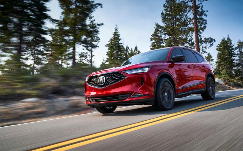 Acura представила кроссовер MDX нового поколения