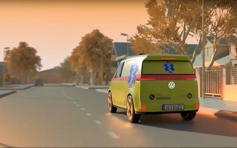 Volkswagen разработает автомобиль скорой помощи с автопилотом