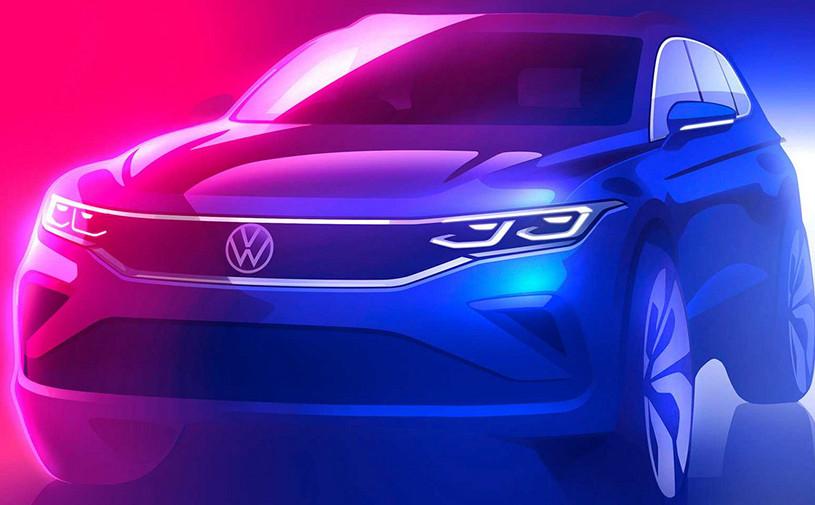 Обновленный Volkswagen Tiguan станет похож на Polo и Jetta