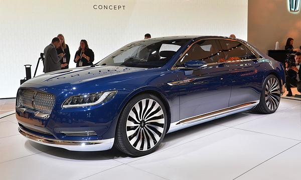 Lincoln привез в Нью-Йорк концепт седана Continental