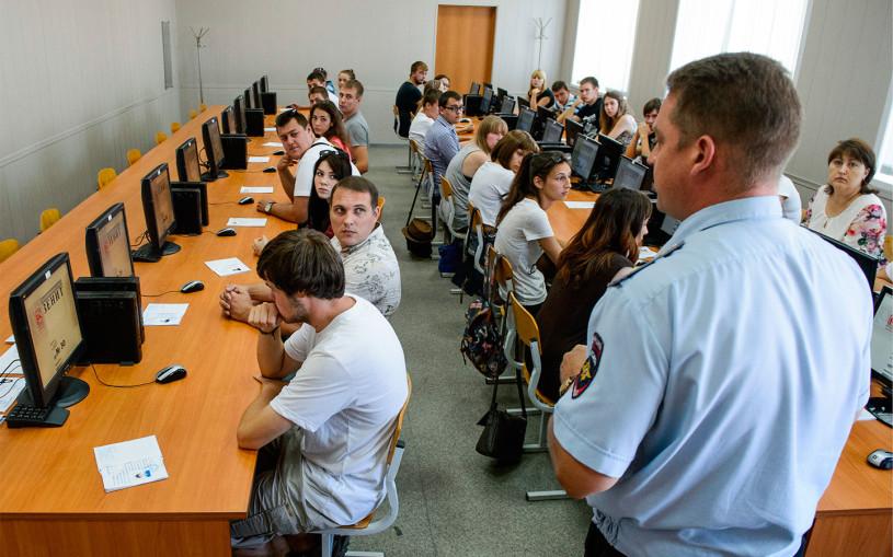 В МВД захотели изменить билеты на теоретическом экзамене в ГАИ