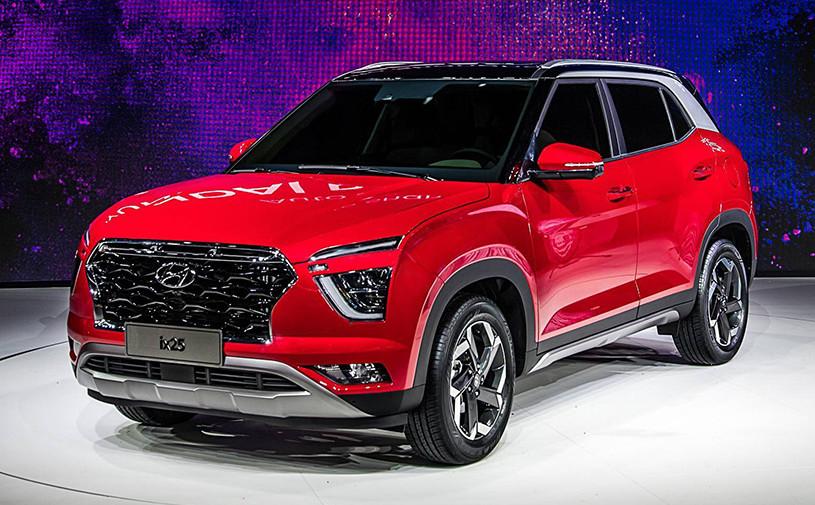 Hyundai показал кроссовер Creta нового поколения