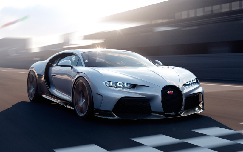 Bugatti представила новый 1600-сильный гиперкар Chiron Super Sport