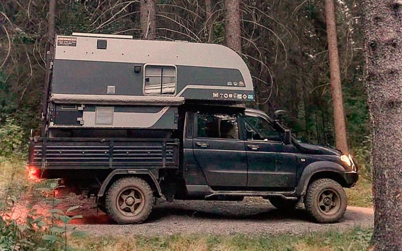 УАЗ «Профи» превратили в дом на колесах. Фото