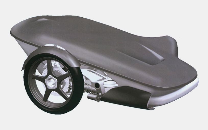 Для мотоцикла Aurus разработали специальную коляску. Первые изображения