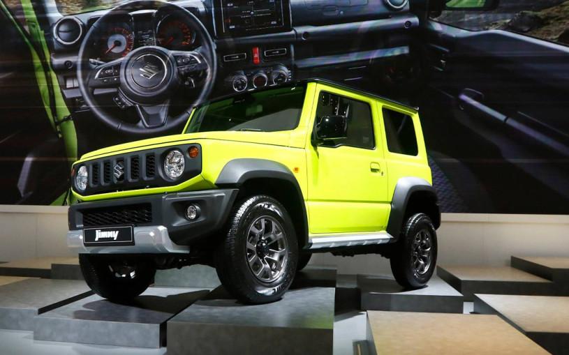 Новый Suzuki Jimny: все о самом маленьком внедорожнике
