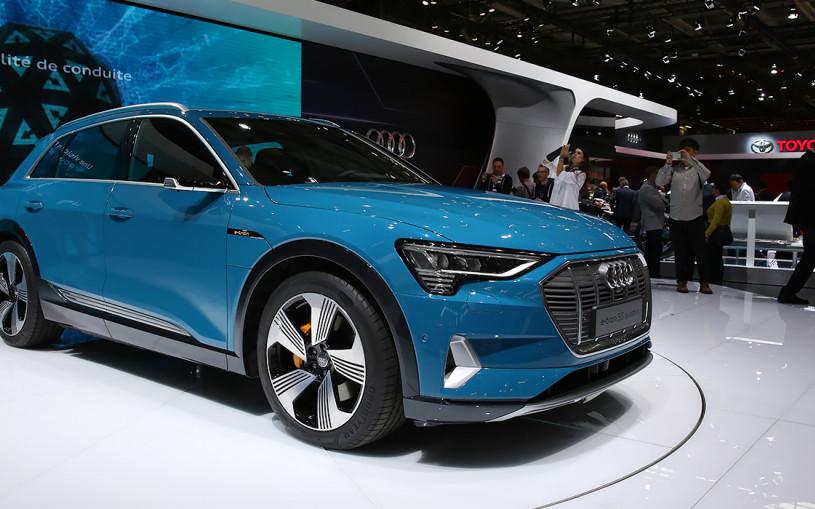 Страшный сон Tesla: чем удивил кроссовер Audi E-Tron
