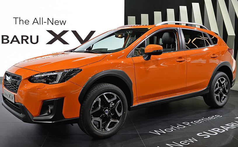 Subaru представил серийную версию XV нового поколения