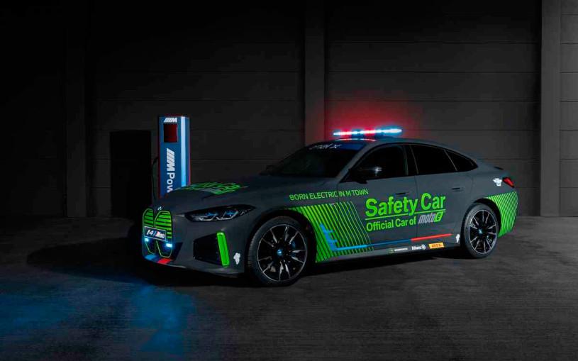 BMW выпустила свой первый электрический автомобиль безопасности