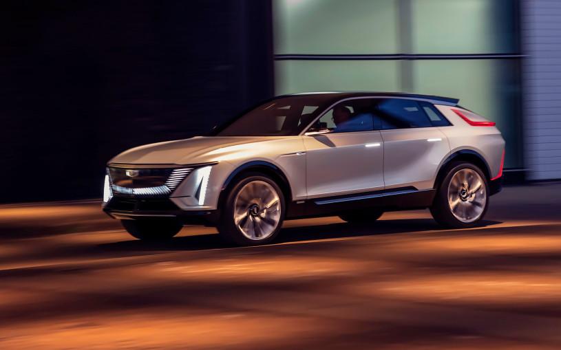 Cadillac допустил поставки электрокара LYRIQ в Россию