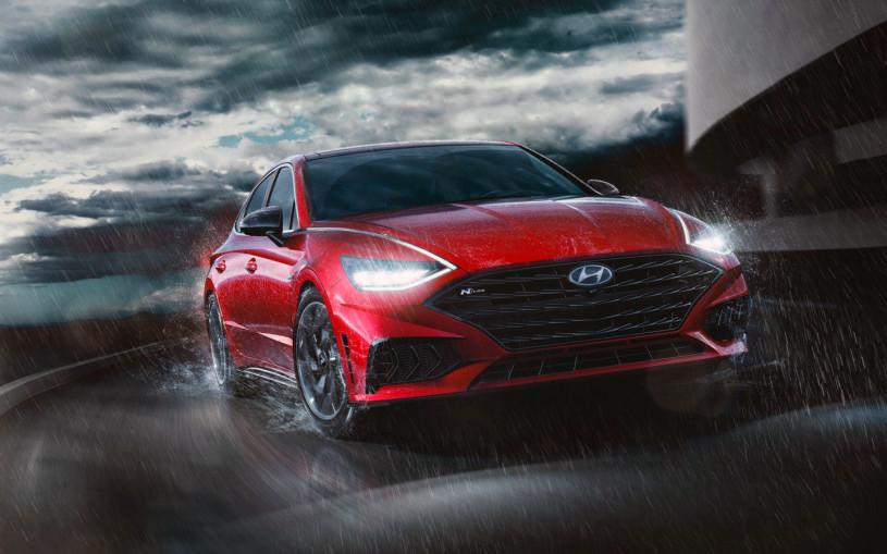 Hyundai рассекретил спортивный седан Sonata N-Line