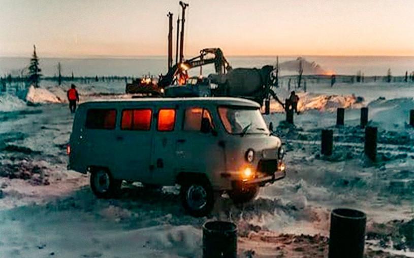 УАЗ рассказал о работе «Буханки» в 45 градусный мороз