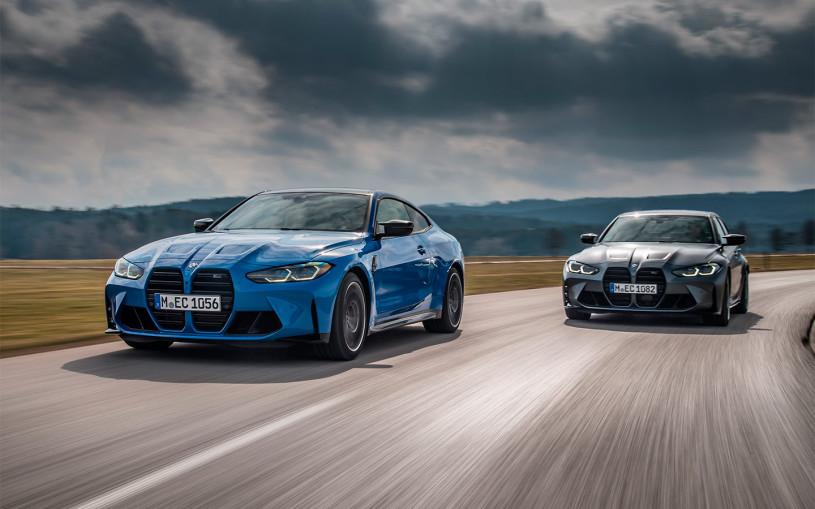 BMW назвала российские цены на полноприводные M3 и M4