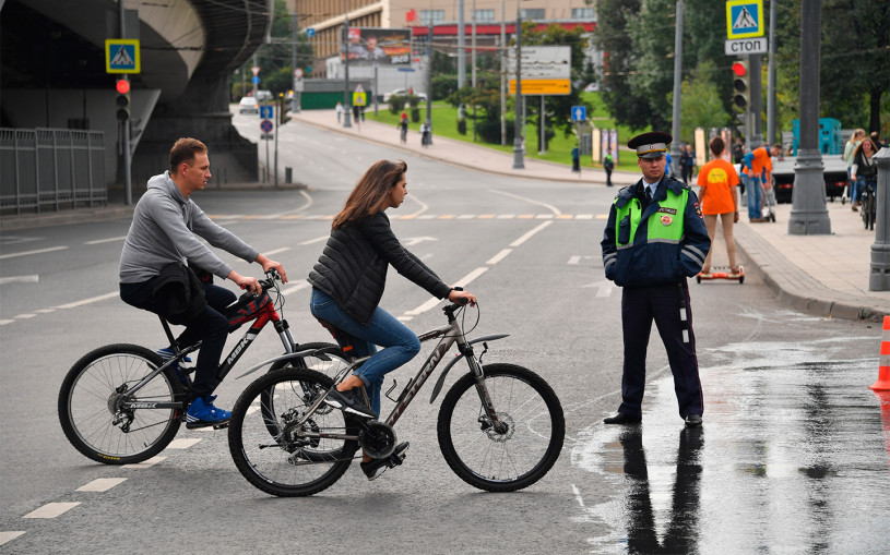 ГИБДД пообещала байкерам и велосипедистам массовые проверки