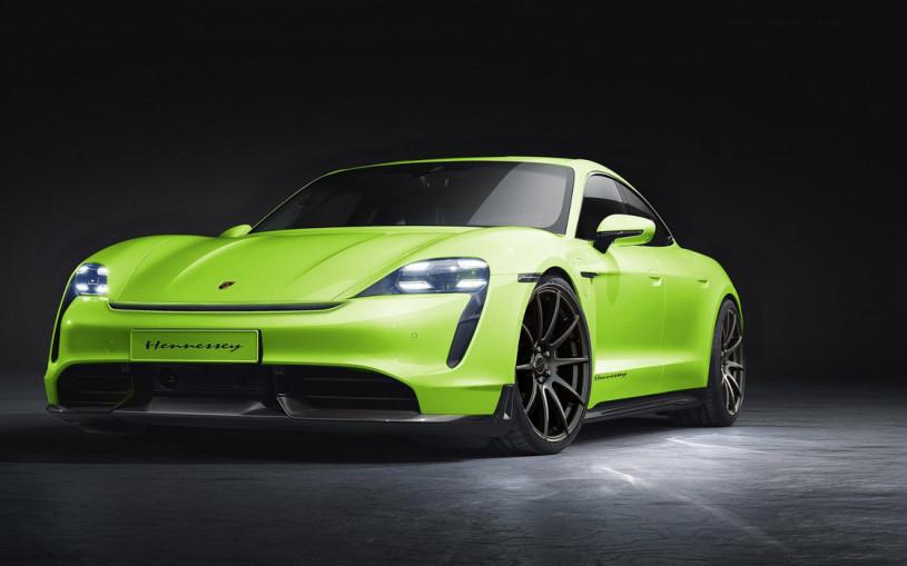 Porsche Taycan стал первым электрическим проектом Hennessey