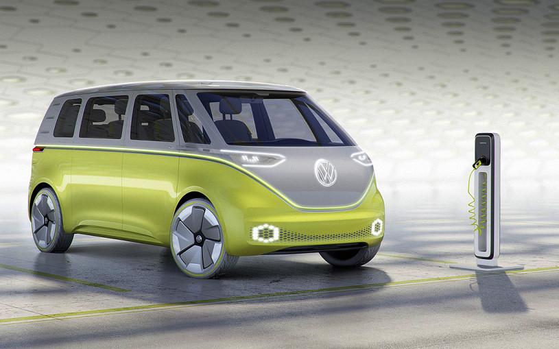 Volkswagen представил электрический микроавтобус