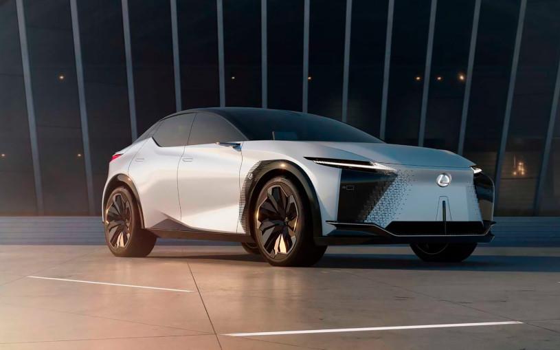 Lexus намекнул на будущие модели выпуском концептуального кроссовера