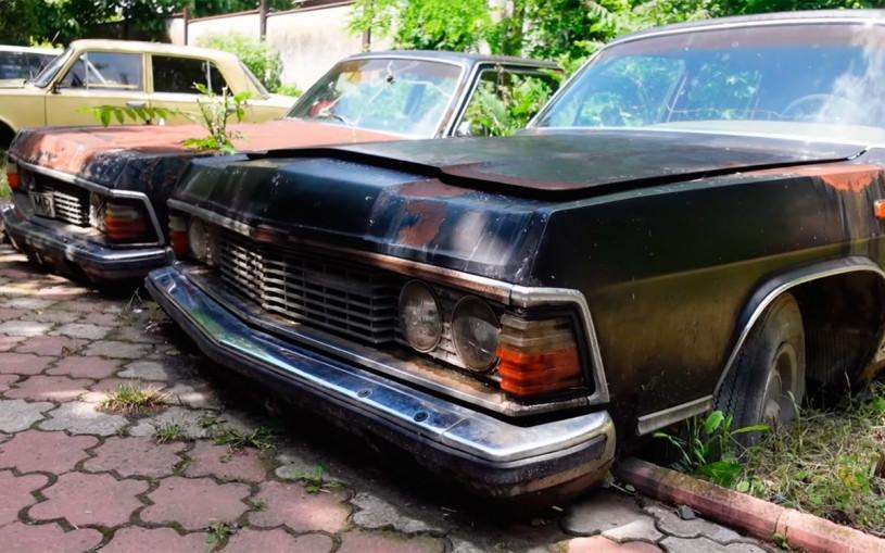 Цыганский барон показал коллекцию лимузинов времен СССР