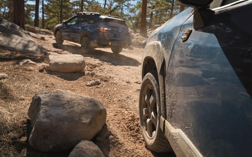 Subaru адаптирует Forester к тяжелому бездорожью