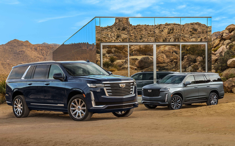 Cadillac представил удлиненный Escalade ESV нового поколения