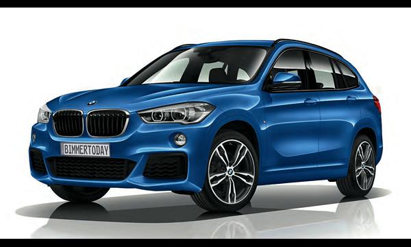 Новый BMW X1 получил M-пакет