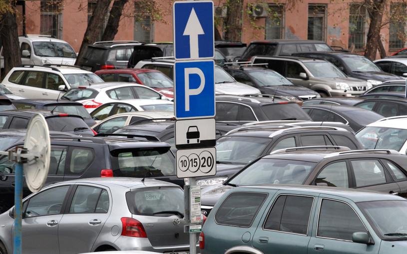 Москвичи стали чаще пользоваться платной парковкой