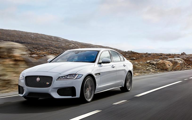 Jaguar представил обновленный XF для России