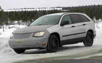 Chrysler Pacifica: первые шпионские фото