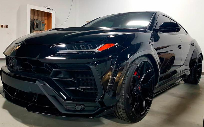 Канадец отключил датчик слежения и угнал арендованный Lamborghini Urus