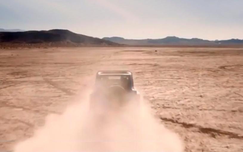 Jeep выпустит серийный внедорожник Wrangler с мотором V8