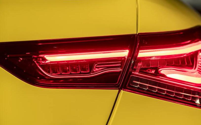 Спортивную версию нового Mercedes CLA показали на видео