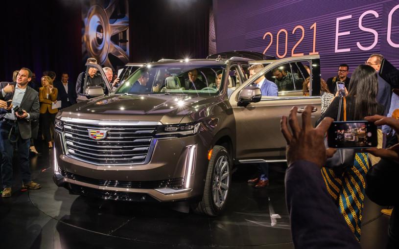 Cadillac рассказал о новом Escalade для России