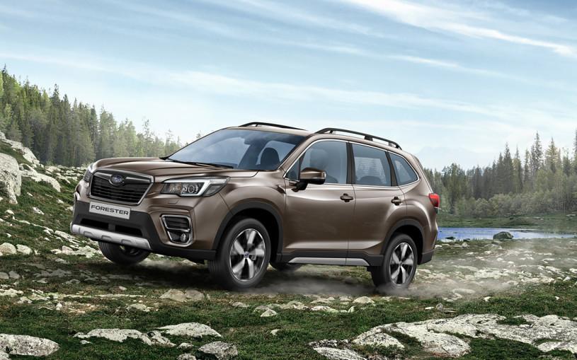 Subaru представила Forester нового поколения для России