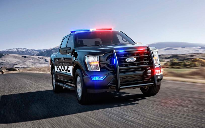 Новый Ford F-150 назвали самым быстрым полицейским перехватчиком в США