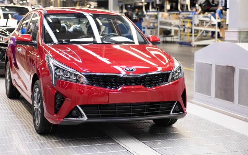 В России началось производство обновленного Kia Rio
