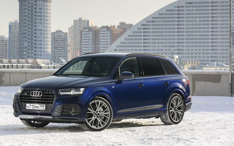 Сила легкости. Три мнения об Audi Q7 - тест-драйв