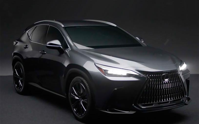 Появились первые изображения нового Lexus NX